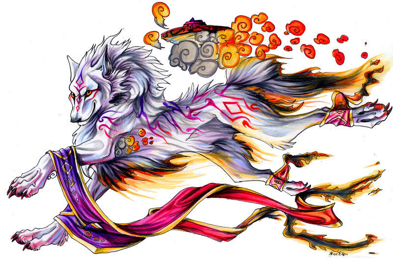 Gallery For gt Cool Wolf Drawings Anime