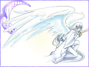 Yue wallpaper with anime titled Yue, moon guardian