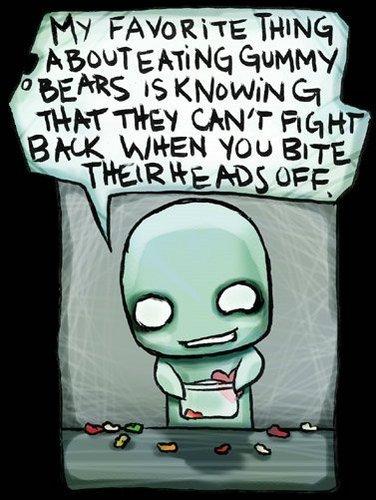 Zi's Opinion on Gummy Bears