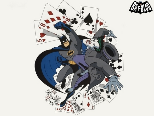 Batman joker punch
