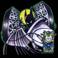 boom box - batman-the-animated-series fan art
