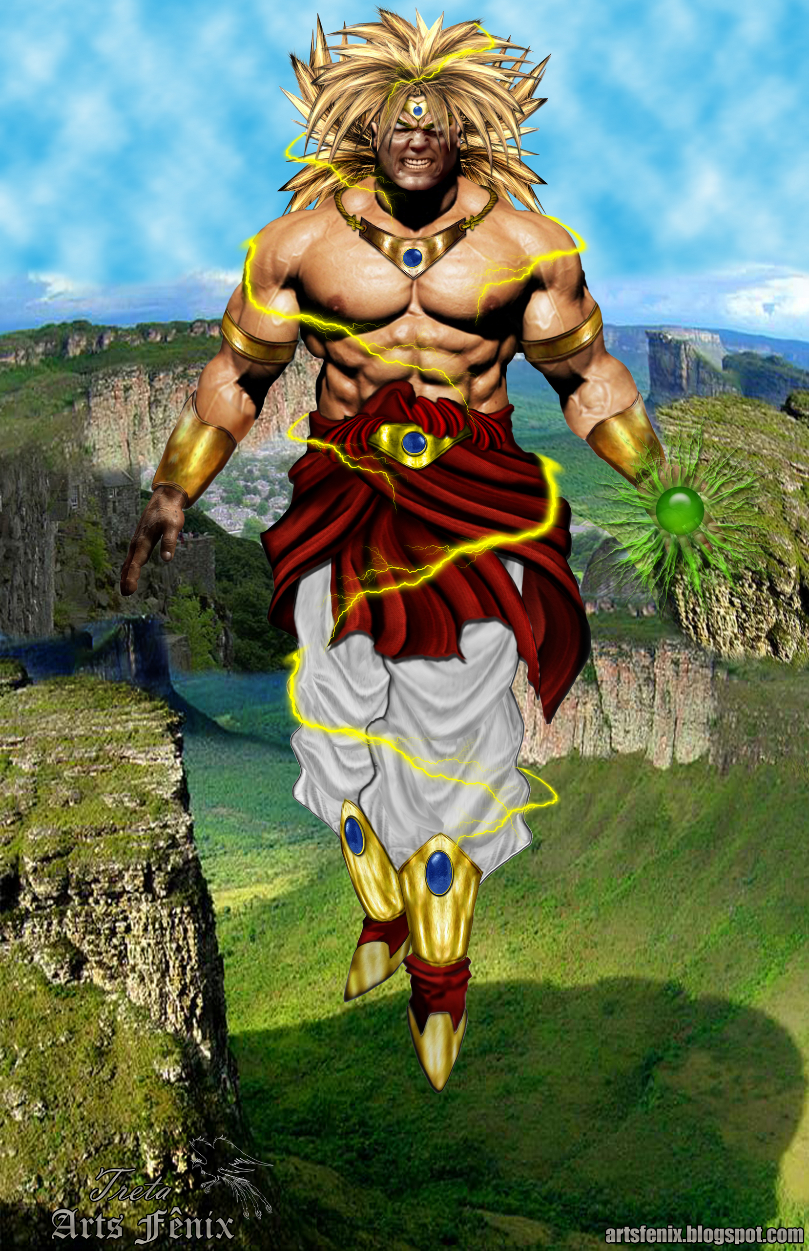 Dragon Ball Z Images Broly Real Hd Wallpaper And Background Photos