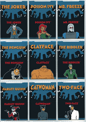 Batman: the animated series wallpaper entitled cards