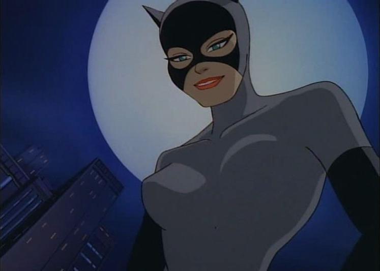 Batman The Animated Series Images Cat An Moon HD Wallpaper And Background Photos