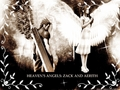 heaven's angels: zack and aerith - final-fantasy-vii wallpaper
