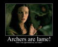 i hate archers - legend-of-the-seeker photo