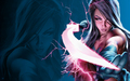 psylocke - x-men-women wallpaper