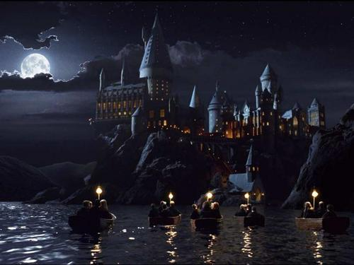 rowing to hogwarts