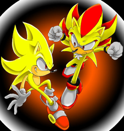 Sonic, Shadow, and Silver wallpaper called shadow and sonic in sonic x