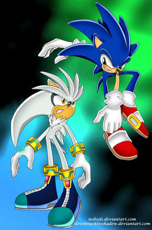 sonic and silver