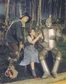 Scarecrow Dorothy And Tin Man