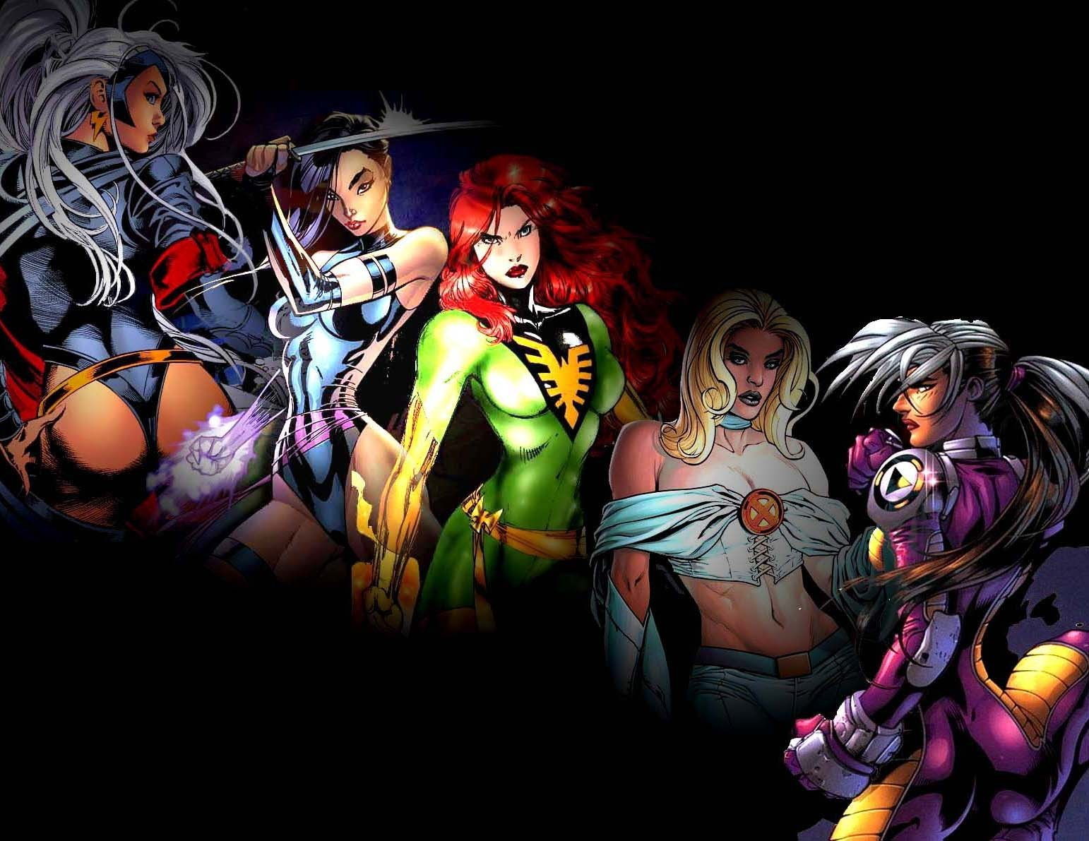 X Men Girl x-women - X-Men Photo ...