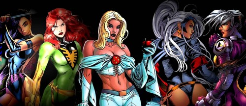 X-Men wallpaper probably with anime called x-women