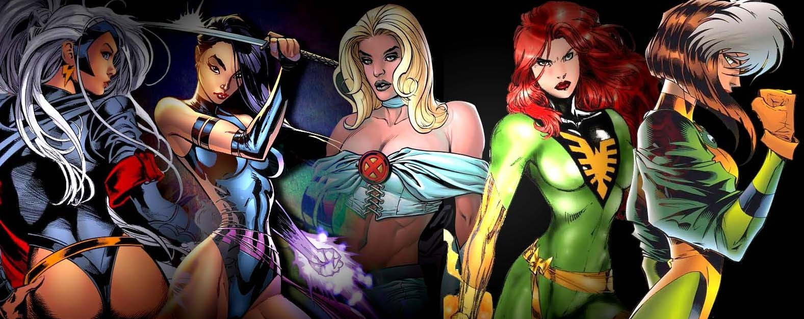 X Men Girl X-Men x-women