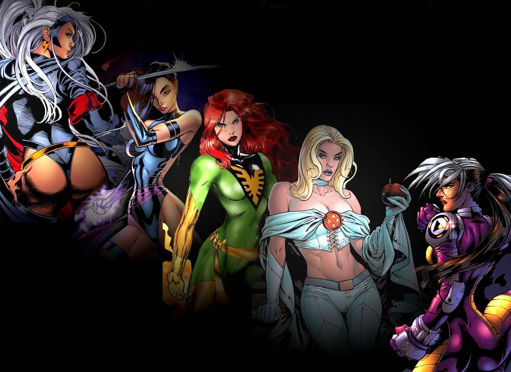 X Men Girl x-women - x-men women ...