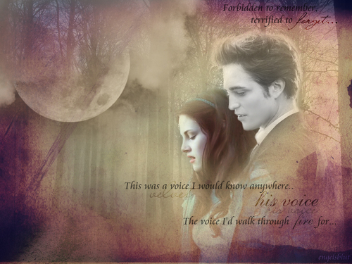 Twilight Series wallpaper probably with a portrait titled ..His voice...