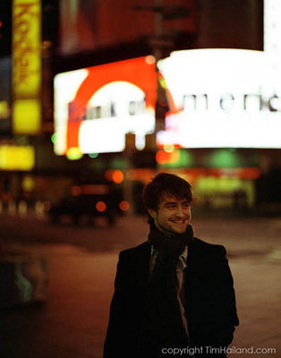 A día in the Life of Daniel Radcliffe: January 13th, 2009