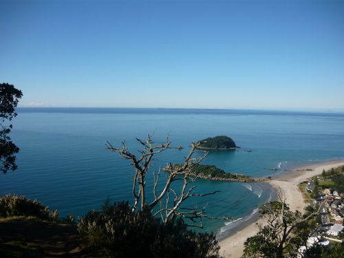 A Place called mount maunganui in New Zealand.
