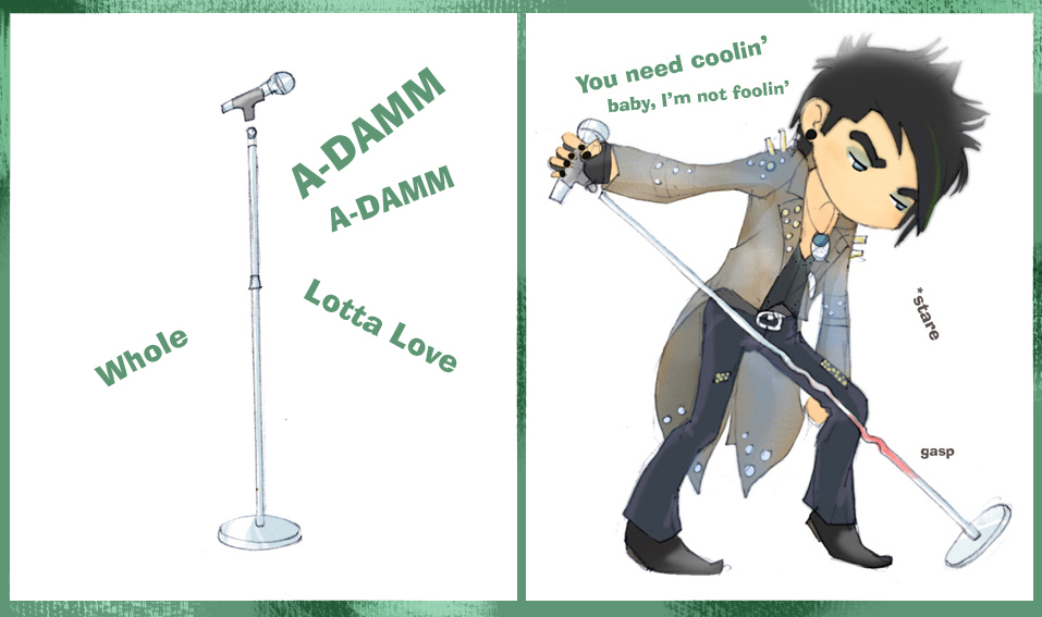 Adam Lambert - Whole Lotta Love - Adam Lambert Fan Art (7130891 ...
