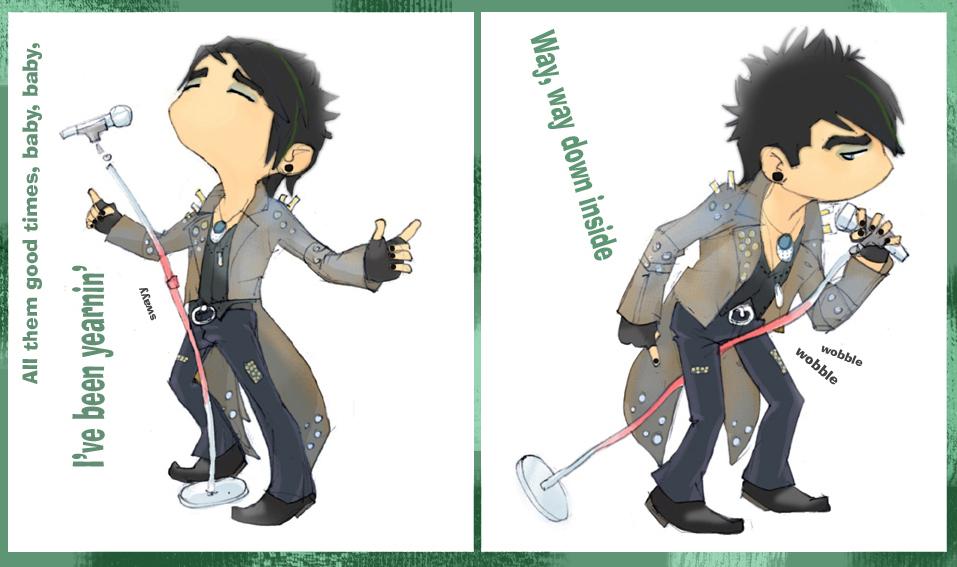 Adam Lambert - Whole Lotta Love - Adam Lambert Fan Art (7130901 ...