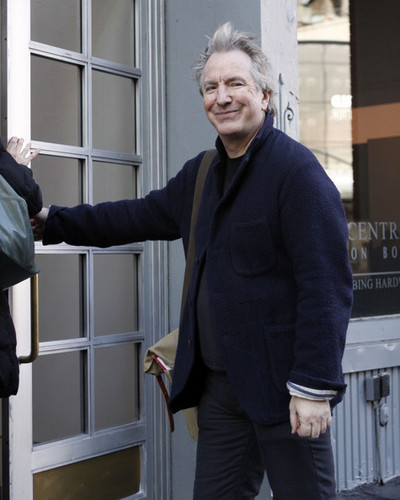 Alan Rickman - Apartment Hunting/New York