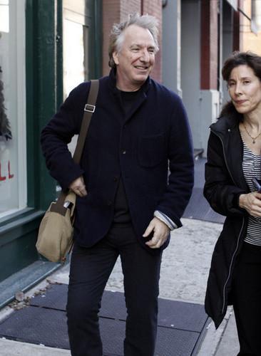 Alan Rickman - Apartment Hunting/New York