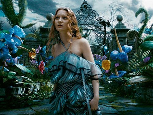 Alice in Tim Burton's 'Alice In Wonderland'