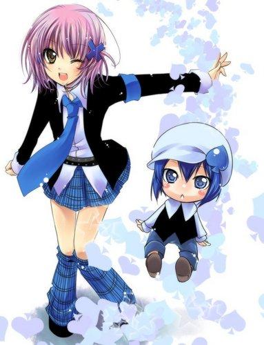 Amu and Miki