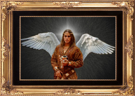 Angelic Hephaistion - jared-leto fan art