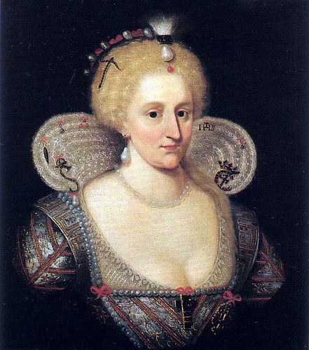 Kings and Queens wallpaper called Anne of Denmark, Queen of James I of England and Scotland