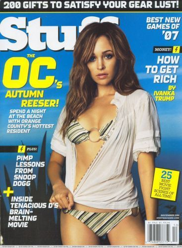 Autumn Reeser in Stuff Magazine