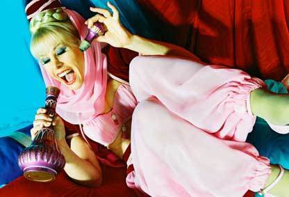 I Dream of Jeannie wallpaper called Barbara Eden in I Dream of Jeannie
