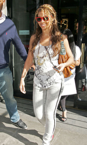Beyonce out in London