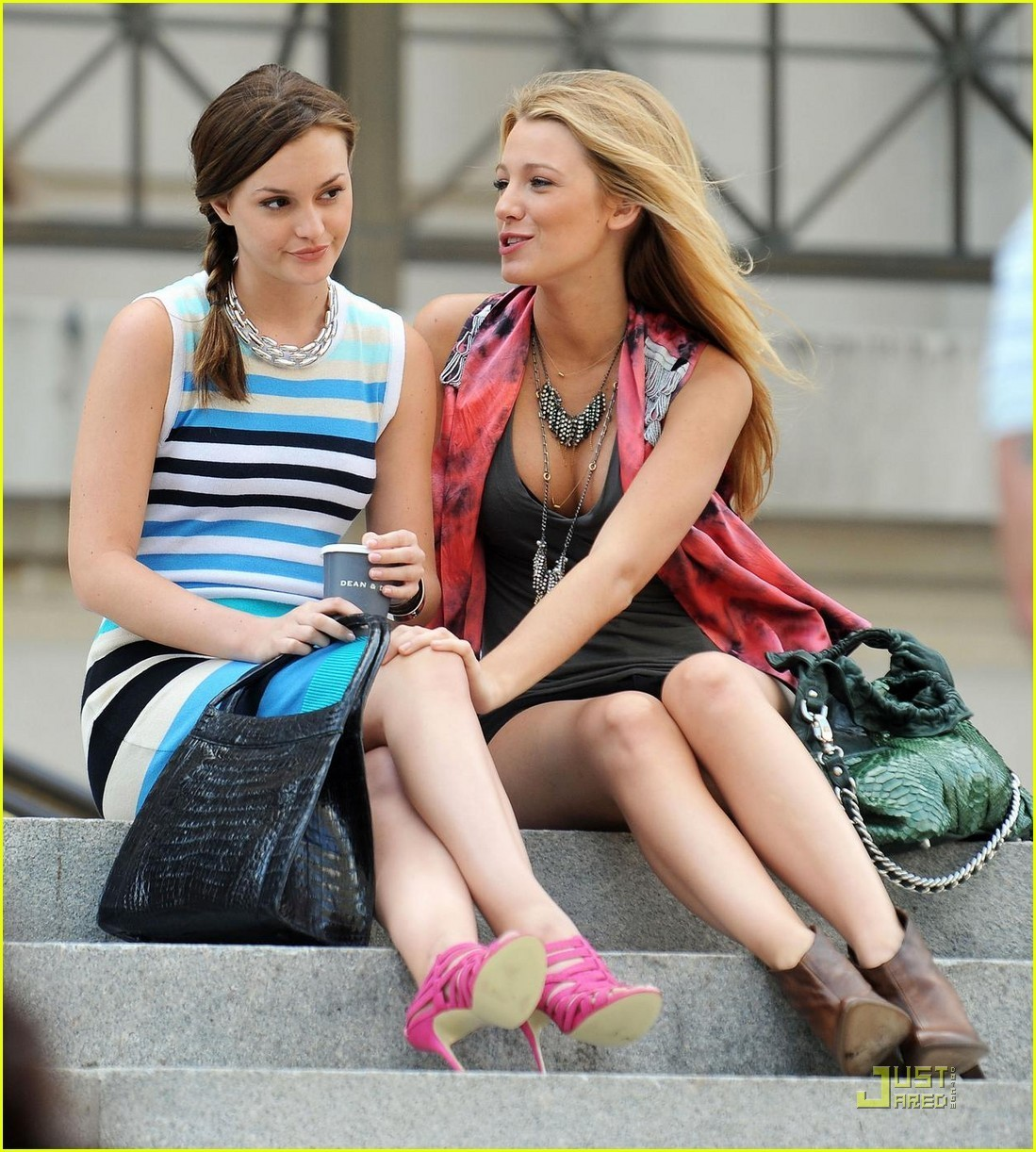 Blake Lively and Leighton