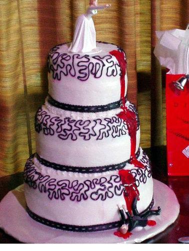 Bloody Wedding Cake