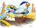 Bubbles racing roadrunner