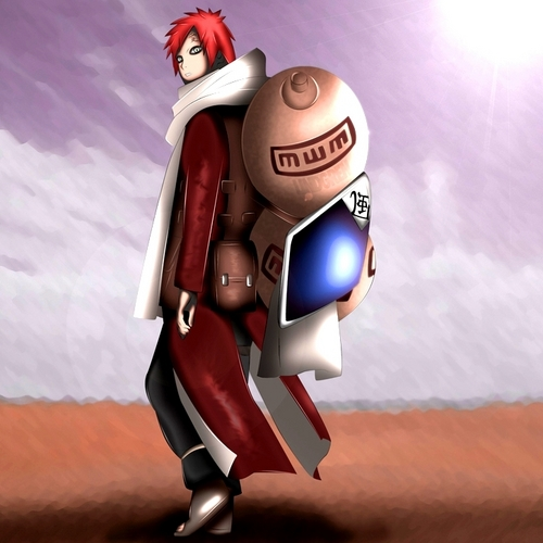 CHECK OUT GAARA'S NEW LOOK!!!