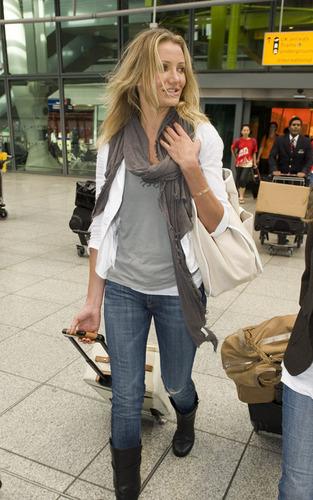 Cameron @ Heathrow Airport