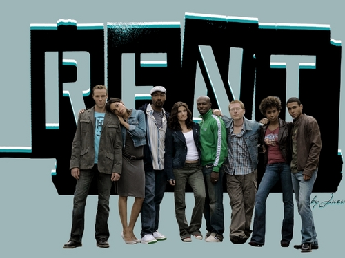 Cast of Rent movie