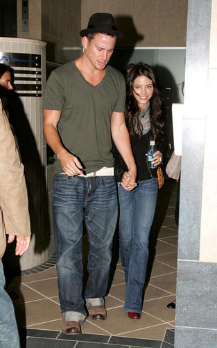 Channing Tatum and Jenna Dewan in Sydney