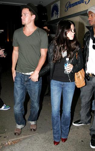Channing Tatum and Jenna Dewan in Sydney