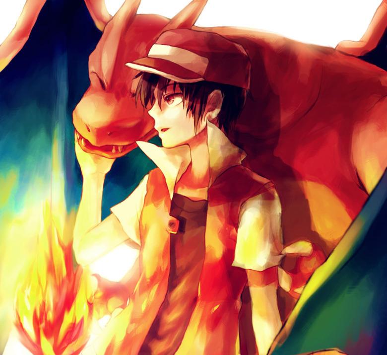 Pokemon Trainer Red Charizard