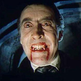 Horrorfilme Hintergrund possibly containing a business suit entitled Christopher Lee