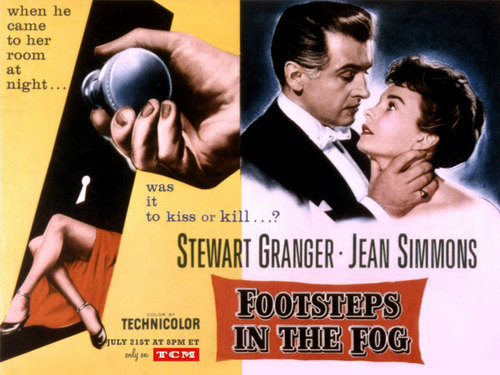 Classic Film,Footsteps In The Fog