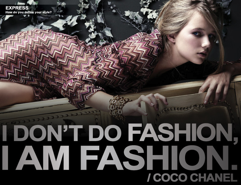 The Glamorous Club Coco Chanel Quote