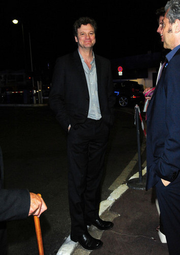 Colin Firth at Cannes