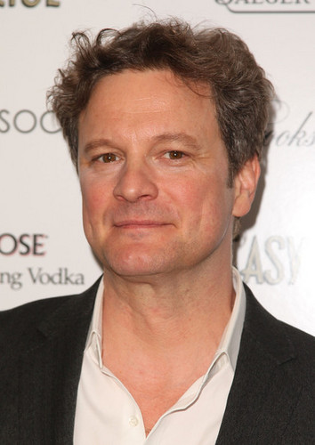 Colin Firth at Easy Virtue Premiere