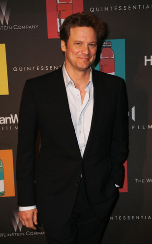 Colin Firth at Quintessentially ディナー Party