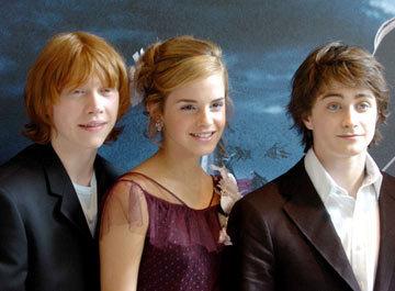 Daniel, Emma and Rupert POA premier
