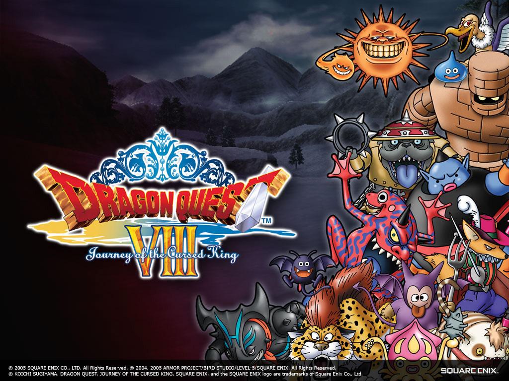 Dragon Quest VIII Monsters - Dragon Quest Wallpaper ...